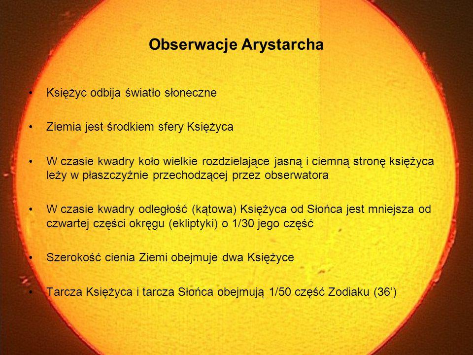 Obserwacje Arystarcha