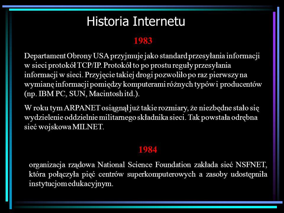 Historia Internetu 1983.