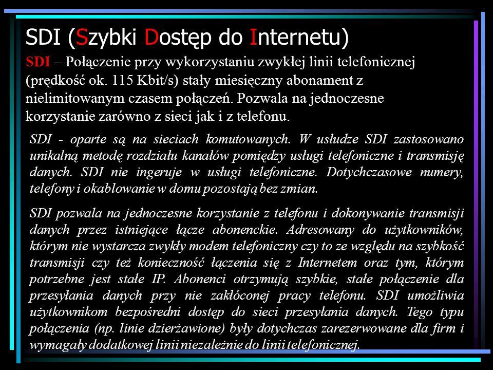 SDI (Szybki Dostęp do Internetu)