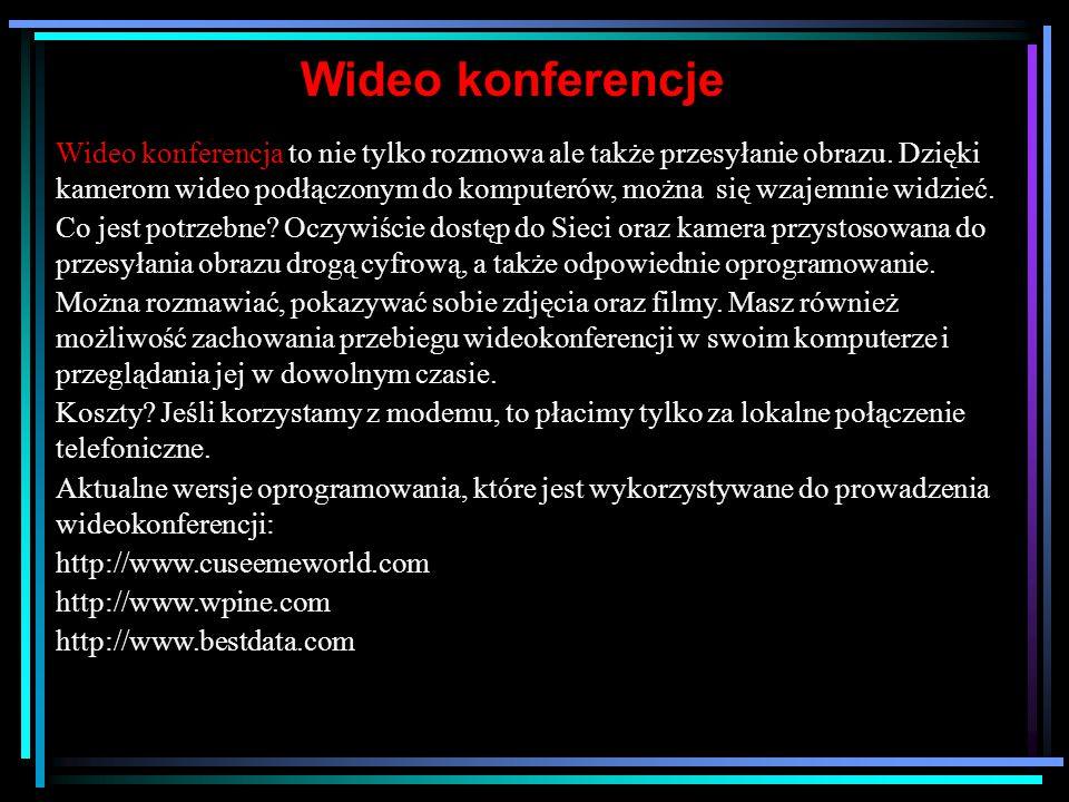 Wideo konferencje
