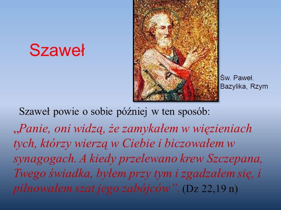 Szaweł Św. Paweł. Bazylika, Rzym.