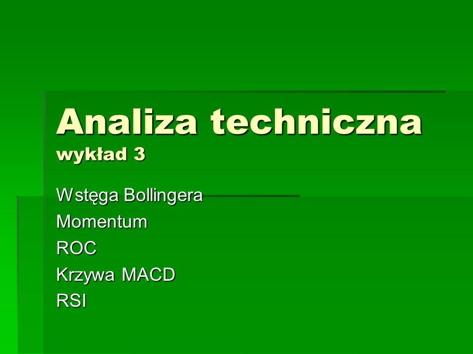 Analiza techniczna wykład 3