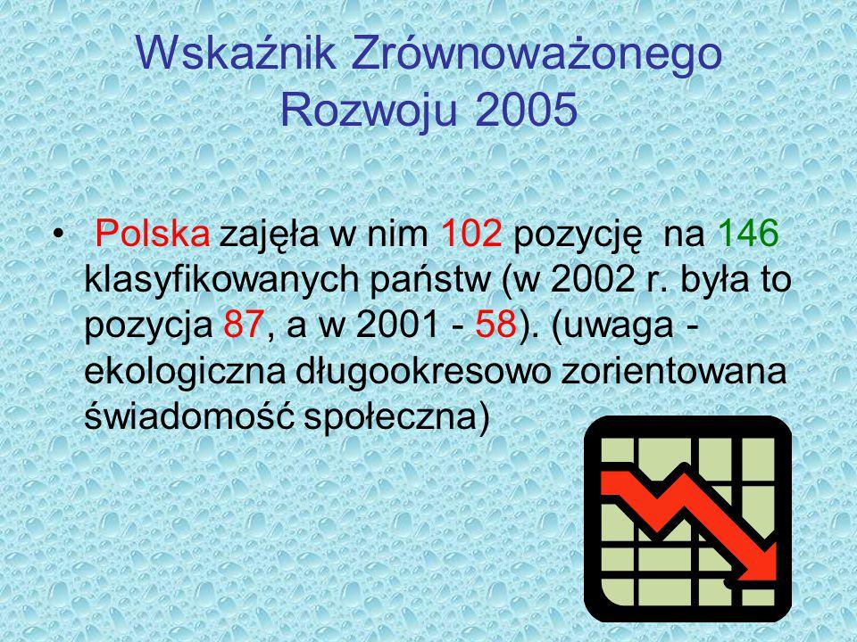 Wskaźnik Zrównoważonego Rozwoju 2005