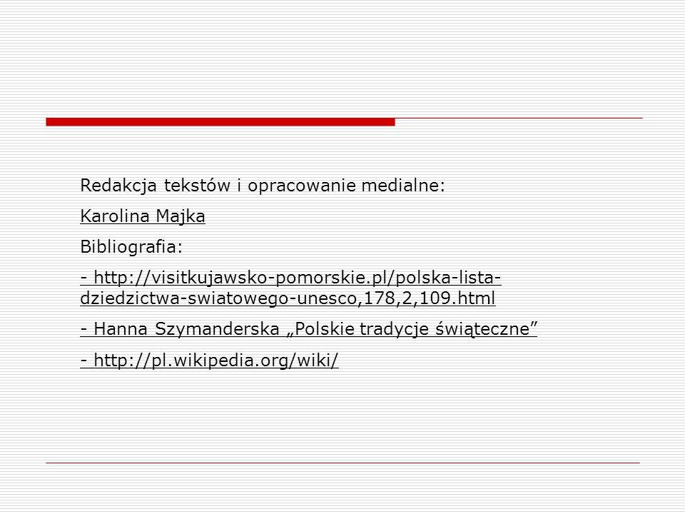 Redakcja tekstów i opracowanie medialne: