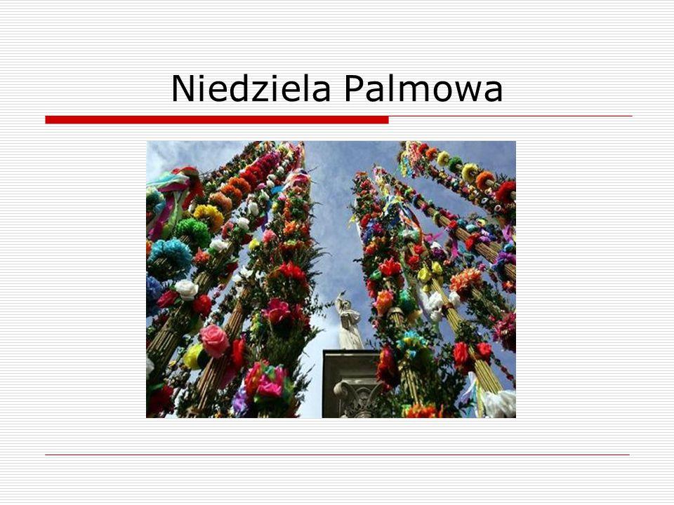 Niedziela Palmowa
