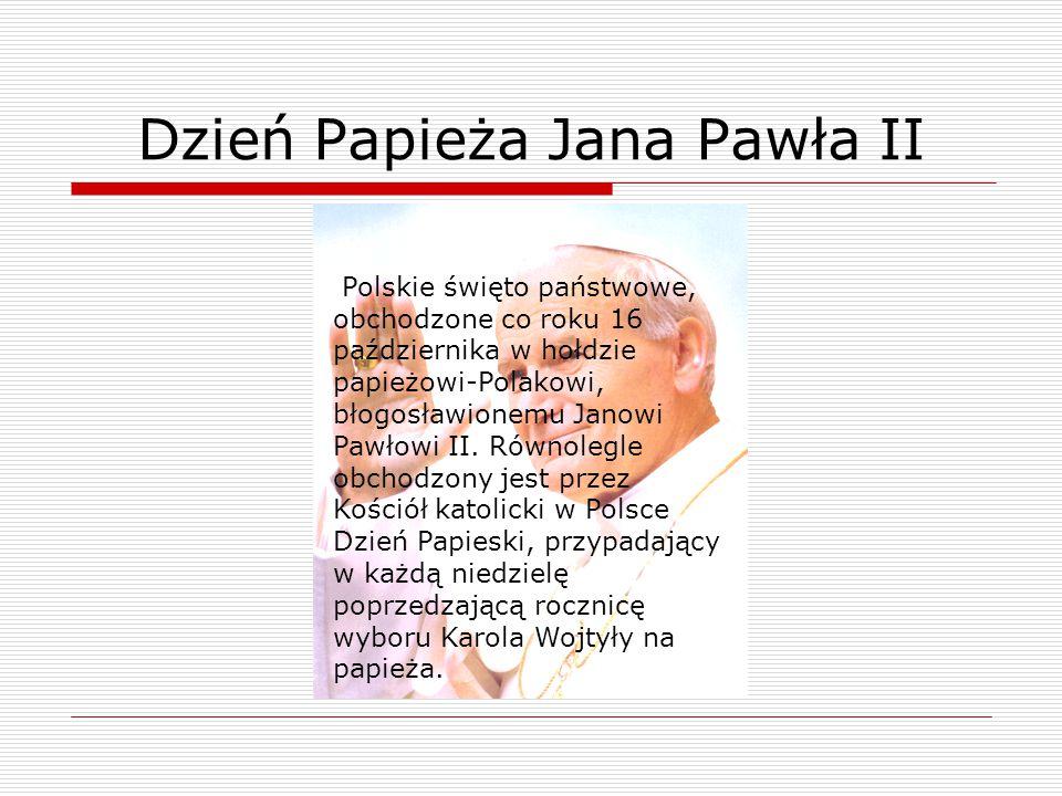 Dzień Papieża Jana Pawła II