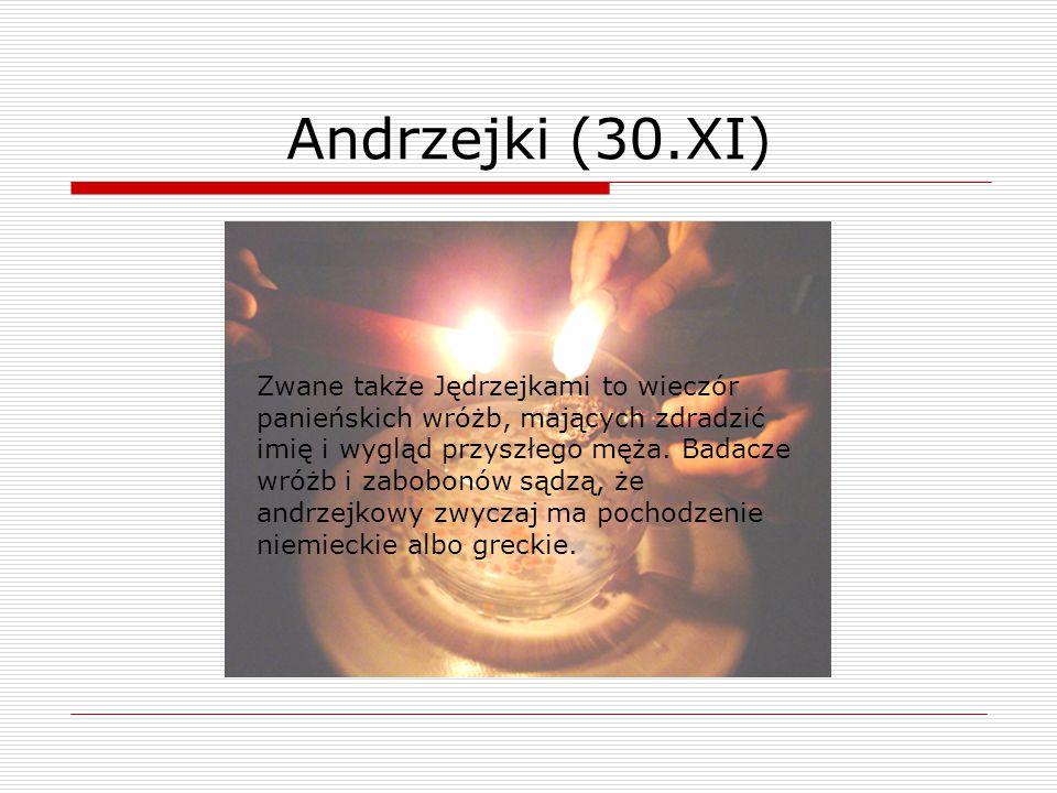 Andrzejki (30.XI)