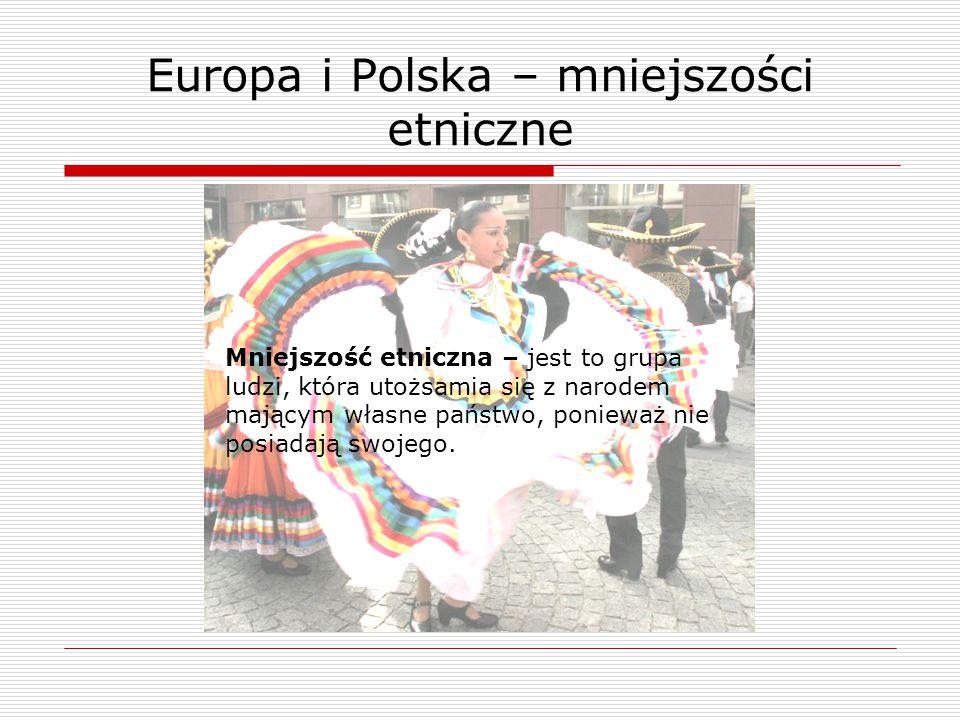 Europa i Polska – mniejszości etniczne
