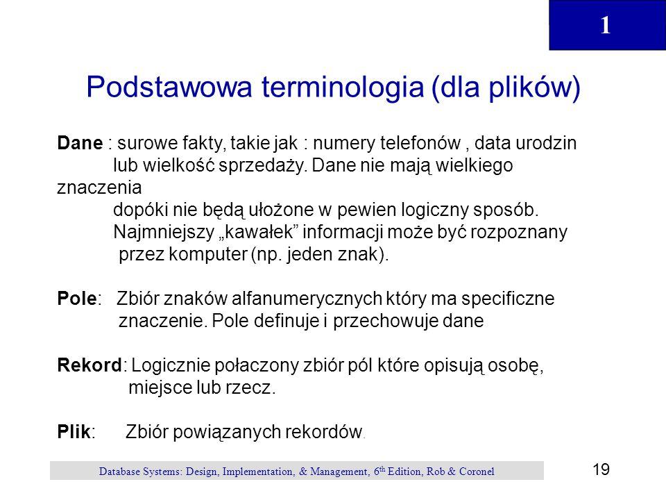 Podstawowa terminologia (dla plików)