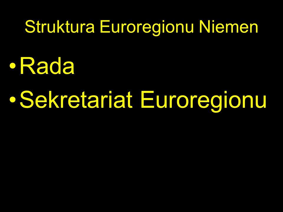 Struktura Euroregionu Niemen