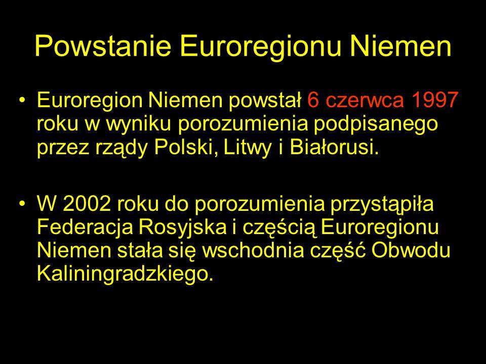 Powstanie Euroregionu Niemen