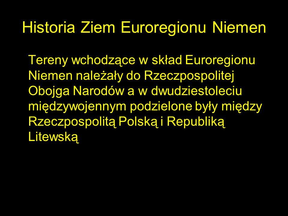 Historia Ziem Euroregionu Niemen