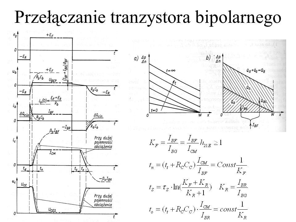Przełączanie tranzystora bipolarnego
