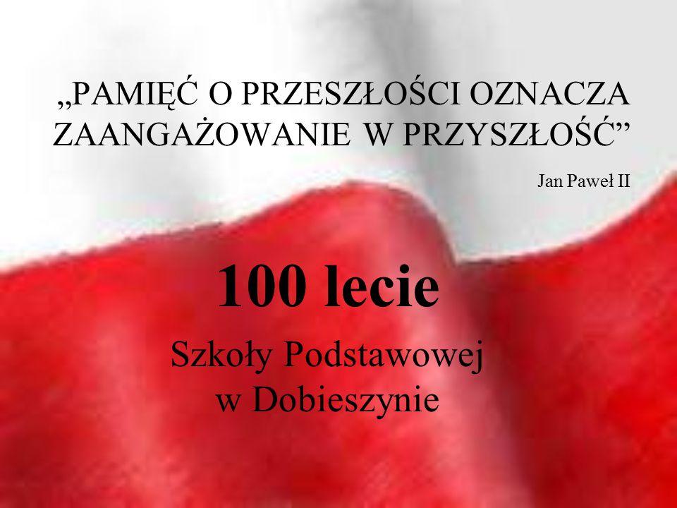 """""""PAMIĘĆ O PRZESZŁOŚCI OZNACZA ZAANGAŻOWANIE W PRZYSZŁOŚĆ Jan Paweł II"""