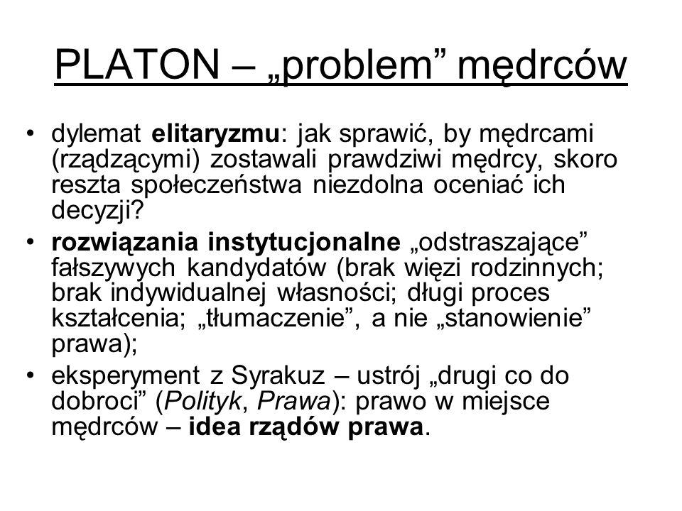 "PLATON – ""problem mędrców"