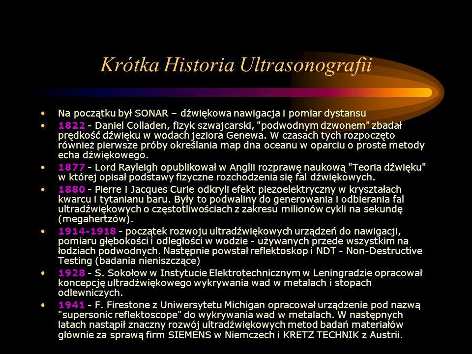 Krótka Historia Ultrasonografii