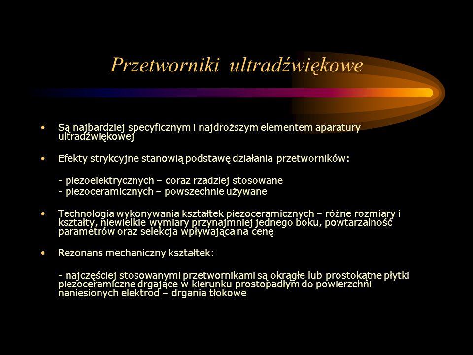 Przetworniki ultradźwiękowe