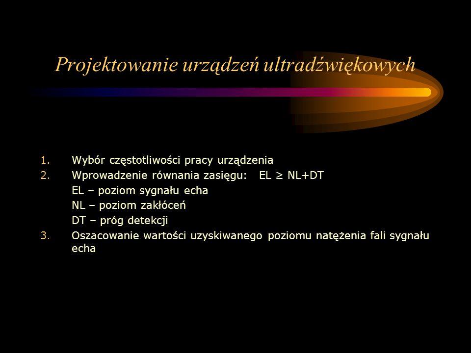 Projektowanie urządzeń ultradźwiękowych