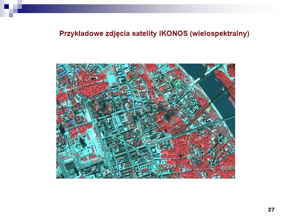Przykładowe zdjęcia satelity IKONOS (wielospektralny)