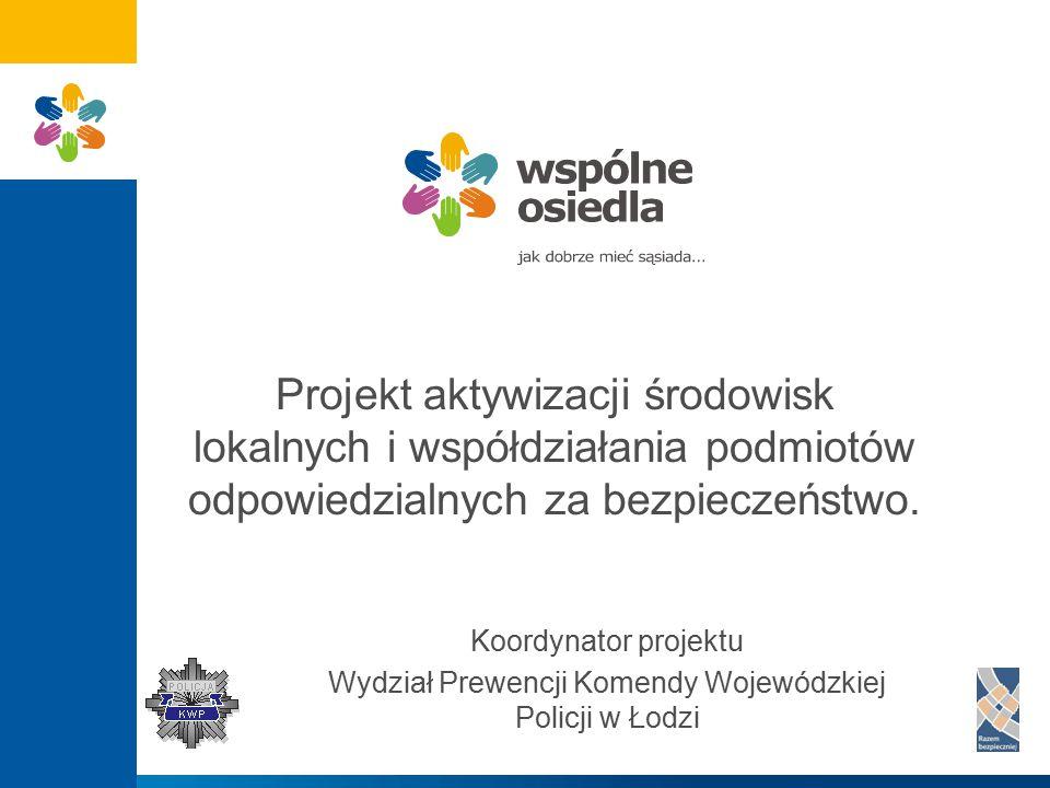 Wydział Prewencji Komendy Wojewódzkiej Policji w Łodzi