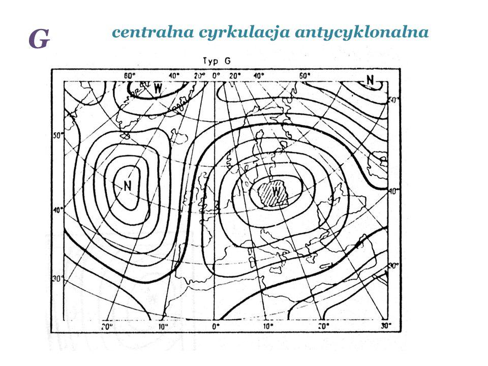 G centralna cyrkulacja antycyklonalna