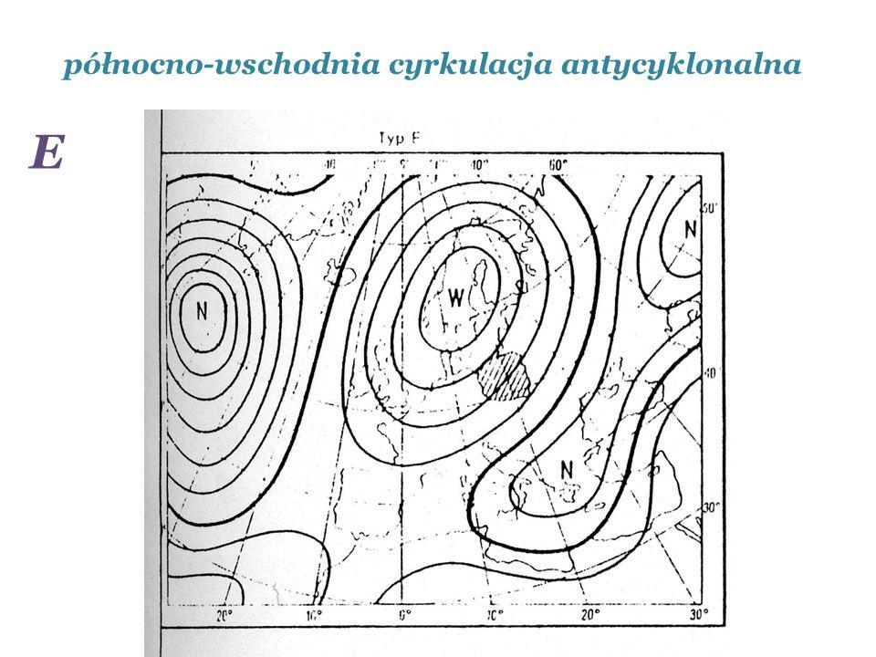 północno-wschodnia cyrkulacja antycyklonalna