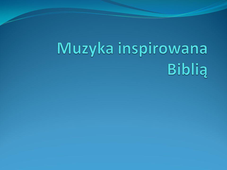 Muzyka inspirowana Biblią