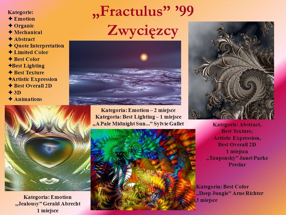 """""""Fractulus '99 Zwycięzcy"""