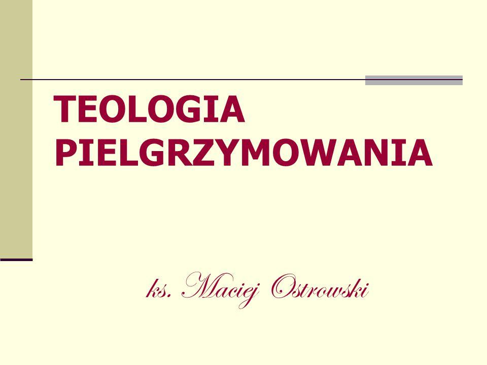 TEOLOGIA PIELGRZYMOWANIA