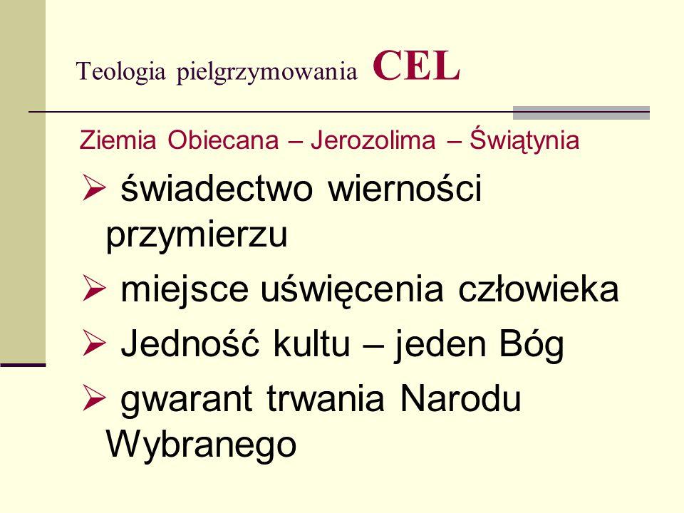 Teologia pielgrzymowania CEL