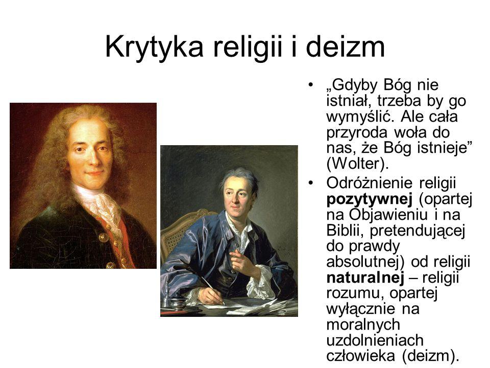 Krytyka religii i deizm