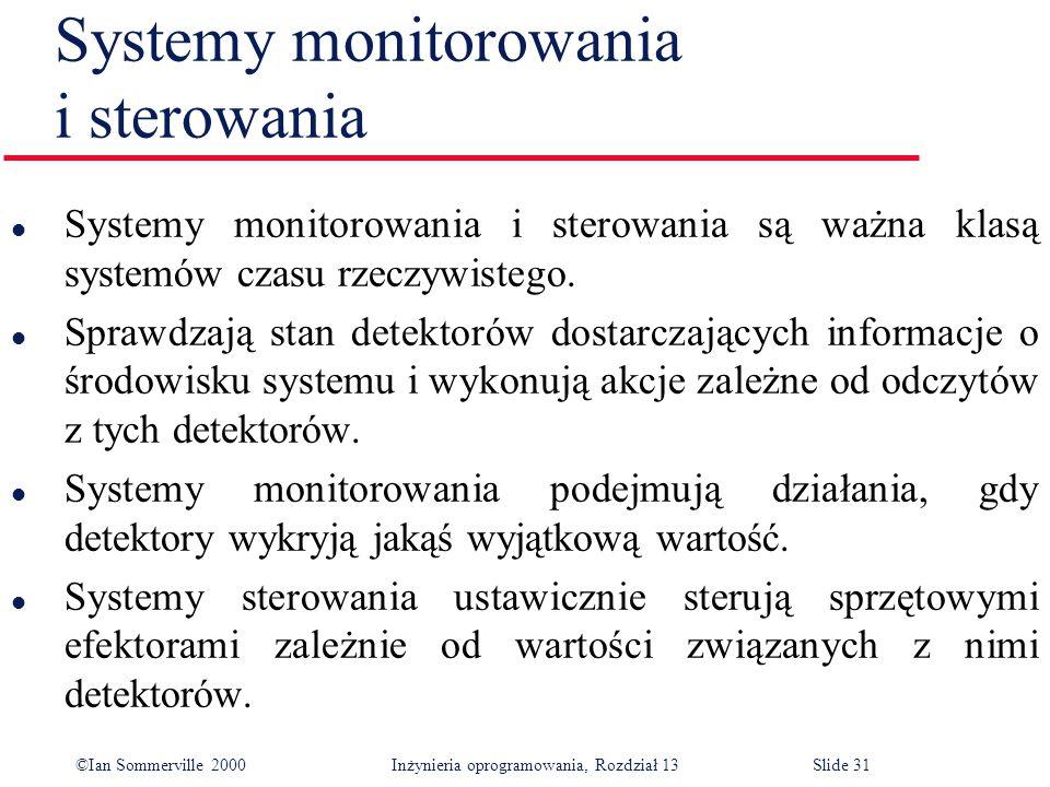 Systemy monitorowania i sterowania