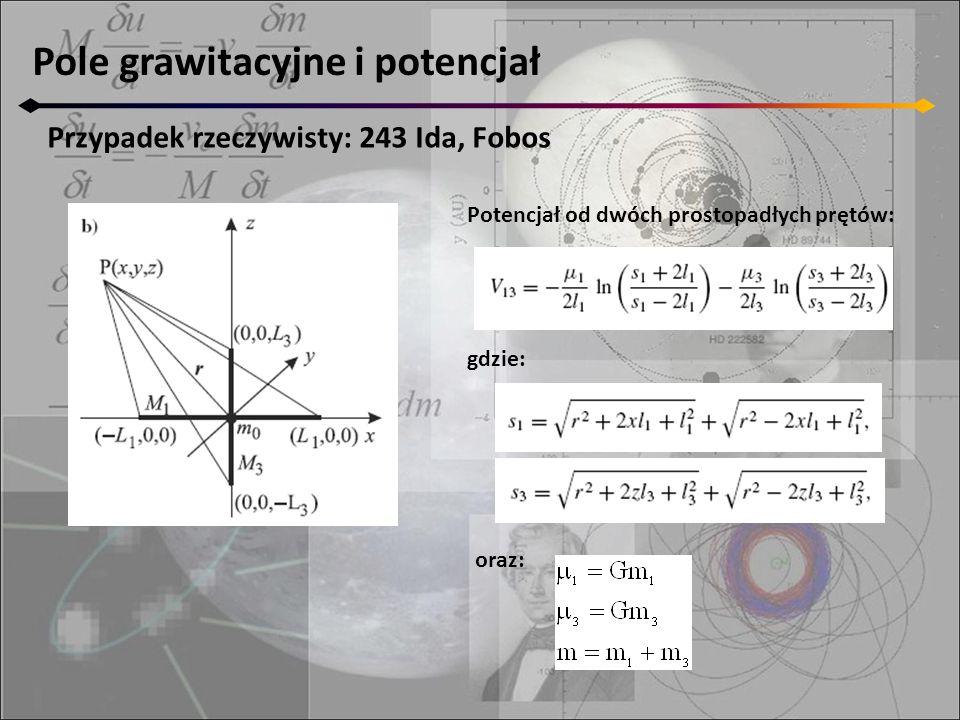 Pole grawitacyjne i potencjał