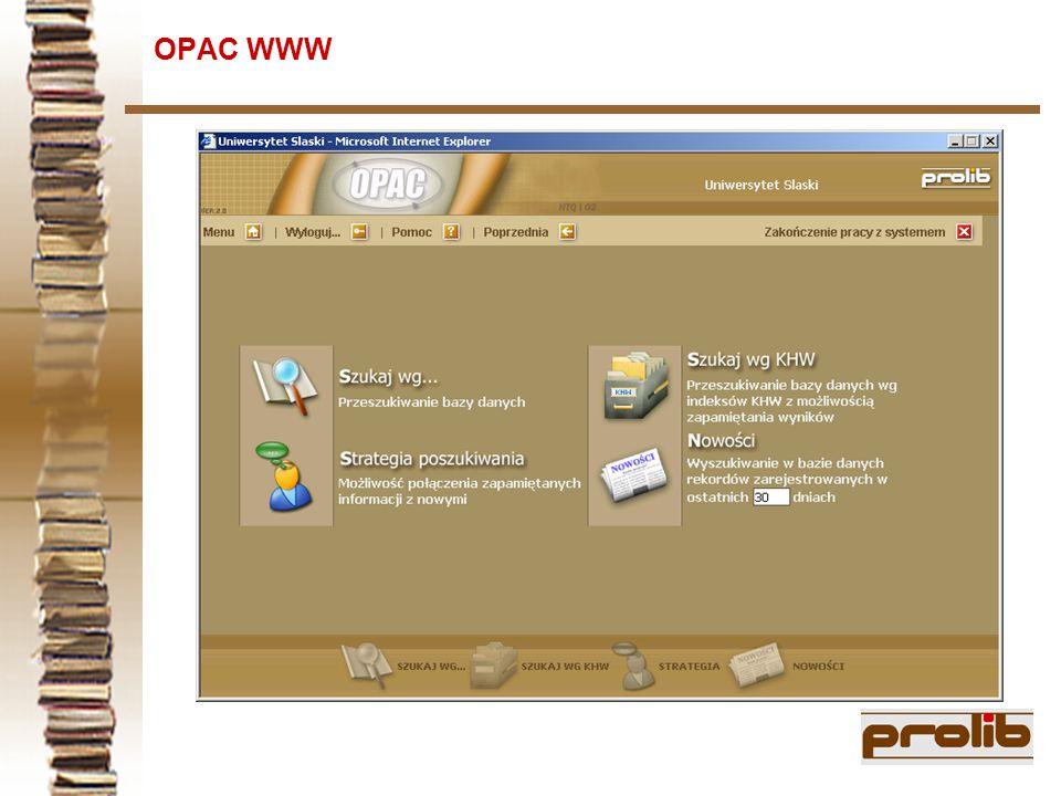 OPAC WWW