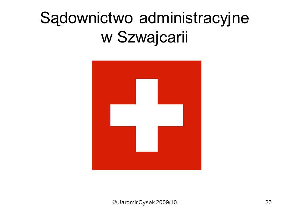 Sądownictwo administracyjne w Szwajcarii