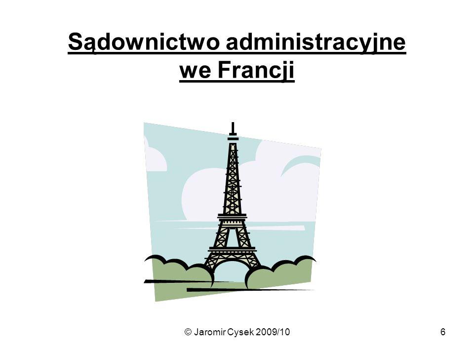 Sądownictwo administracyjne we Francji