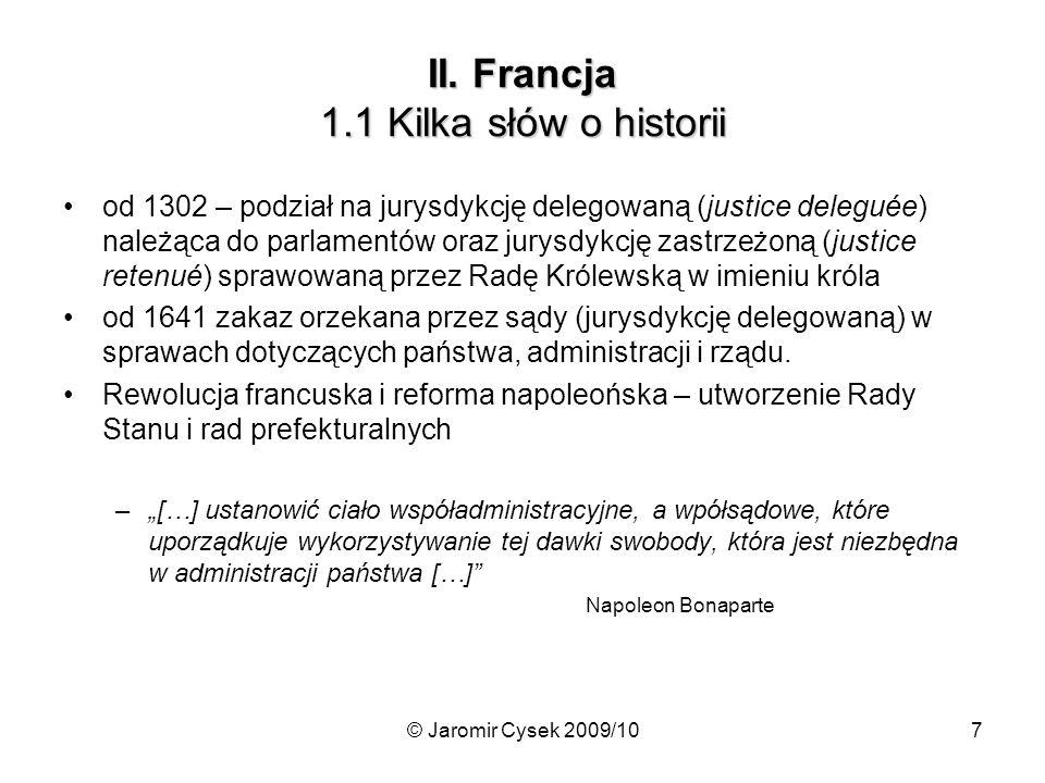 II. Francja 1.1 Kilka słów o historii
