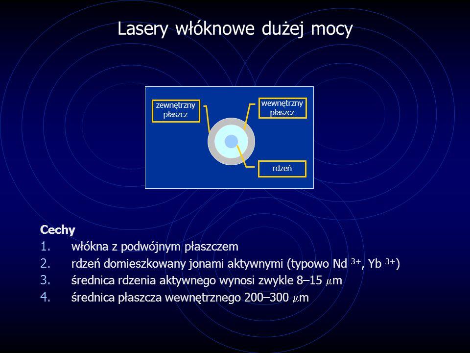 Lasery włóknowe dużej mocy