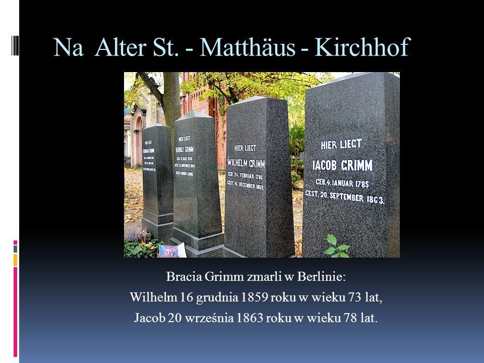 Na Alter St. - Matthäus - Kirchhof