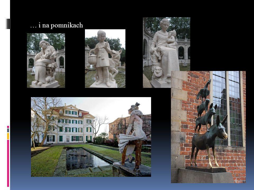 … i na pomnikach