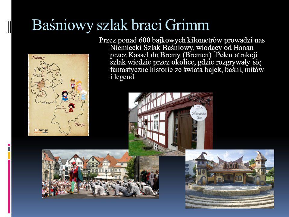 Baśniowy szlak braci Grimm