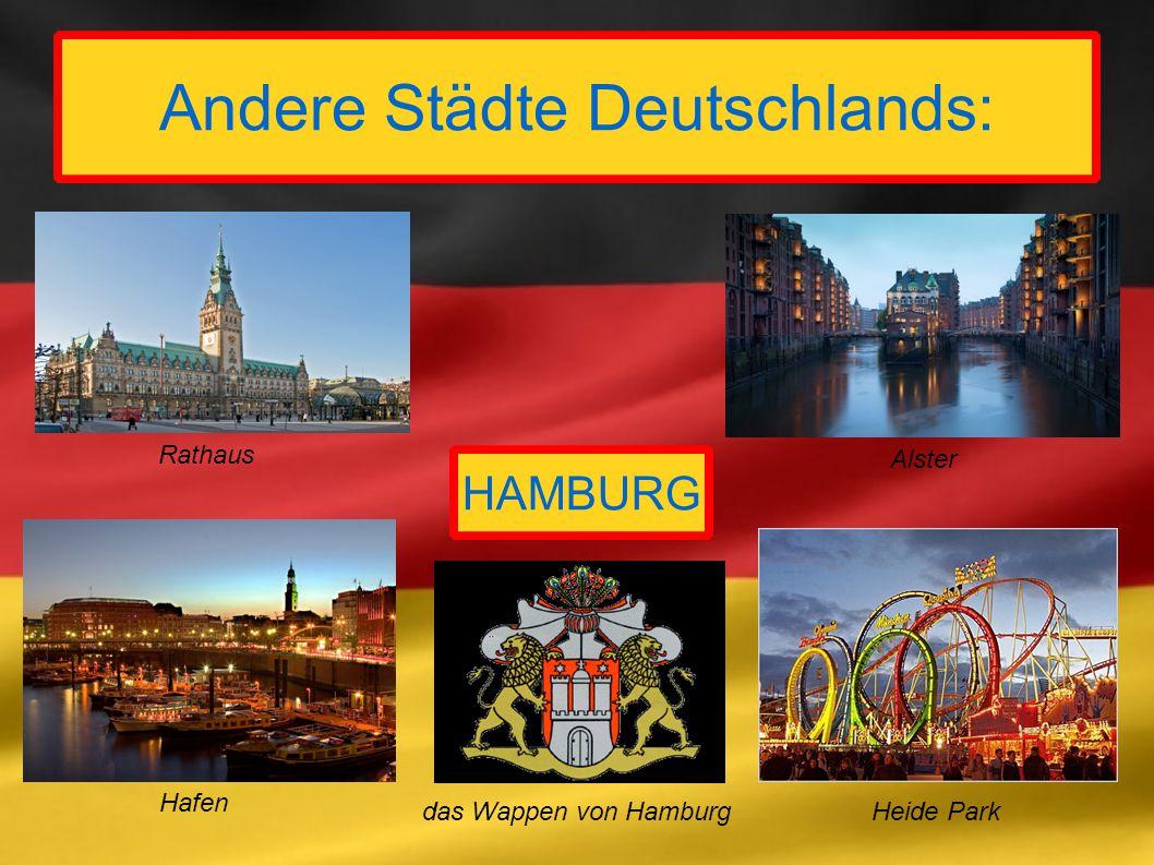 Andere Städte Deutschlands: