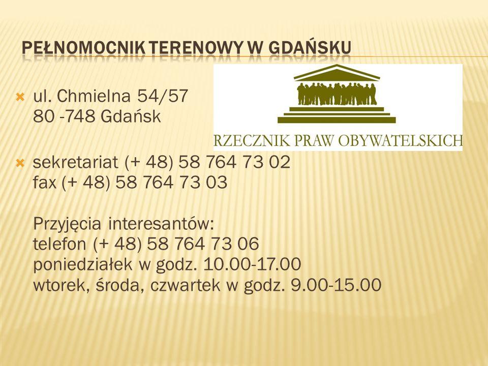 Pełnomocnik Terenowy w Gdańsku