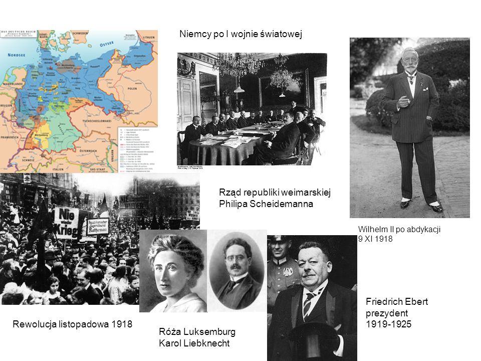 Niemcy po I wojnie światowej