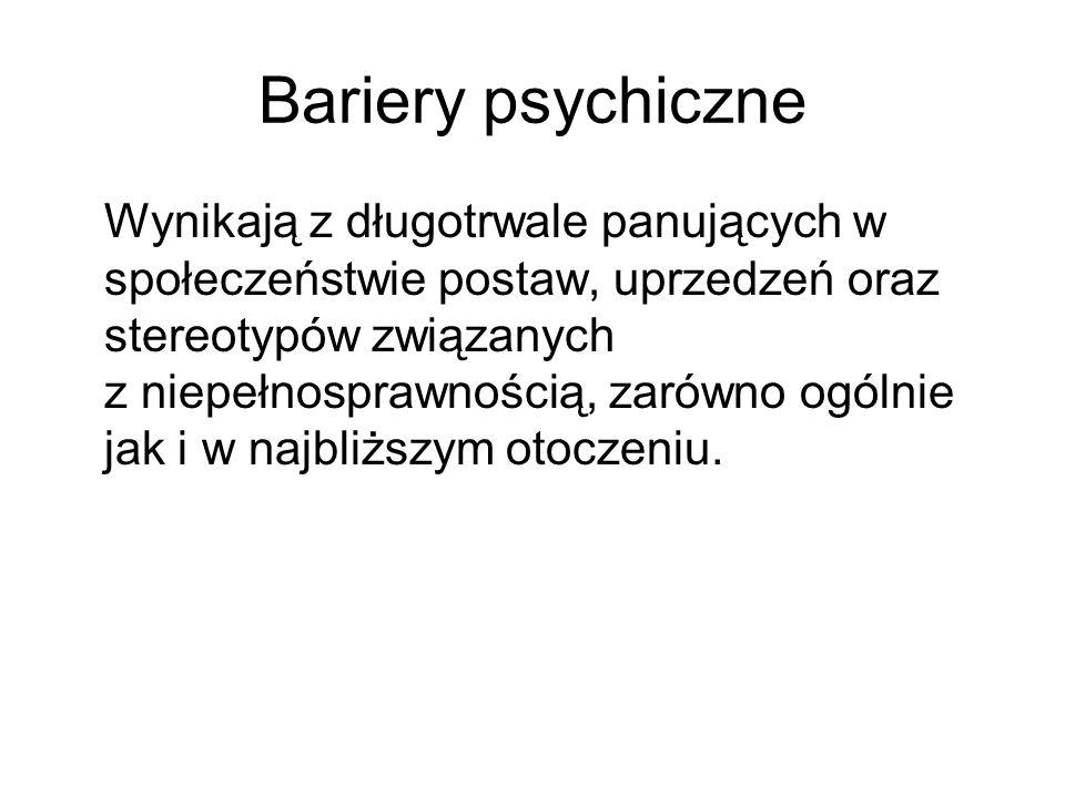 Bariery psychiczne