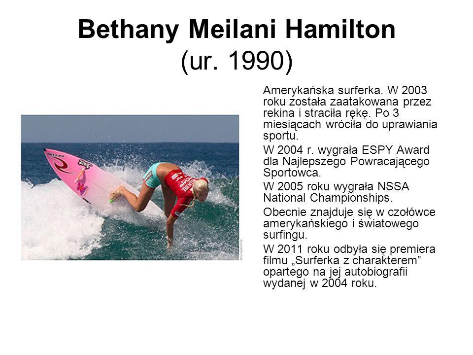 Bethany Meilani Hamilton (ur. 1990)