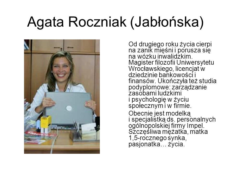 Agata Roczniak (Jabłońska)