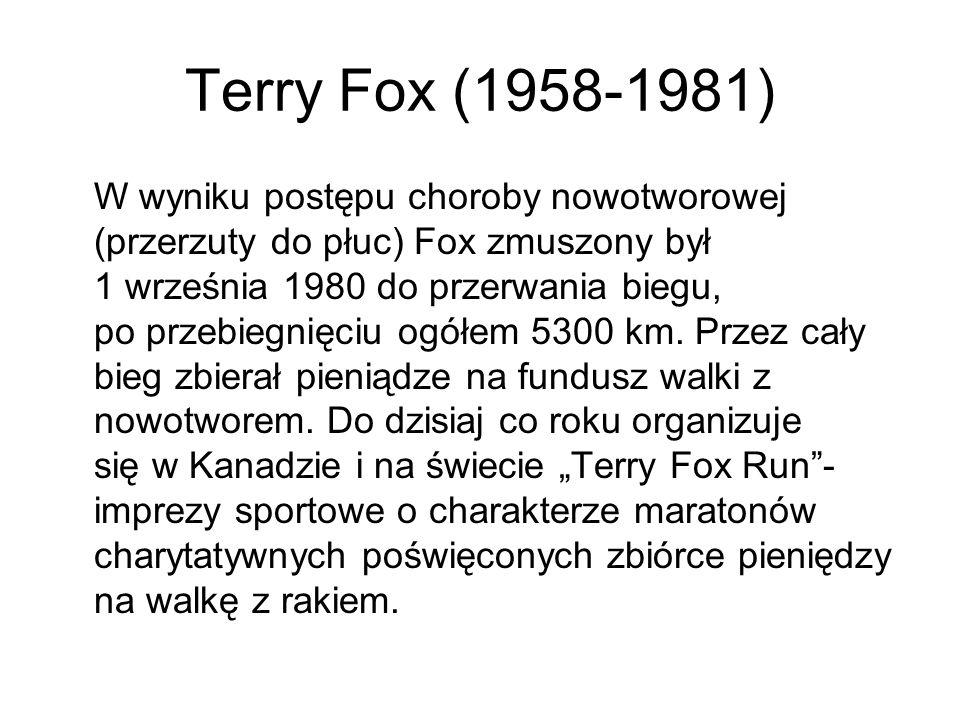 Terry Fox (1958-1981)