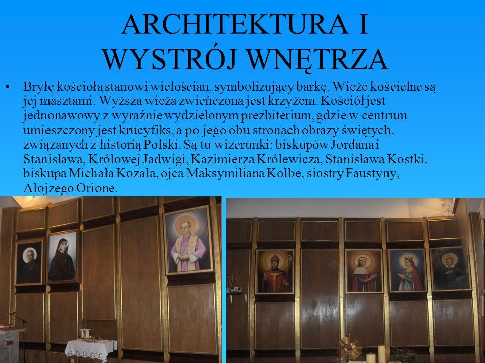 ARCHITEKTURA I WYSTRÓJ WNĘTRZA