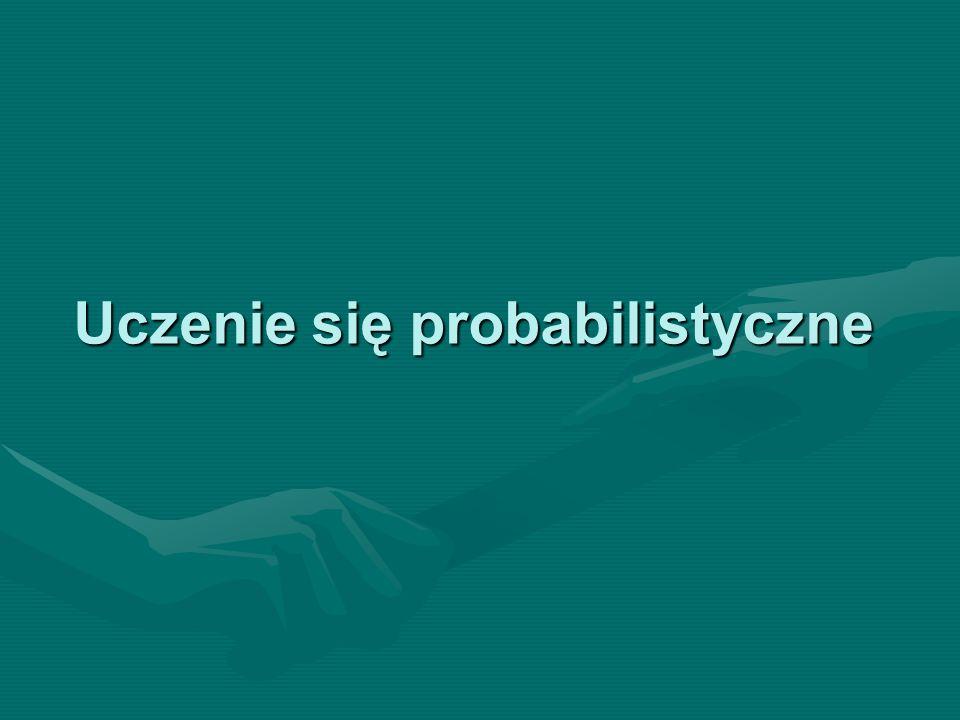 Uczenie się probabilistyczne
